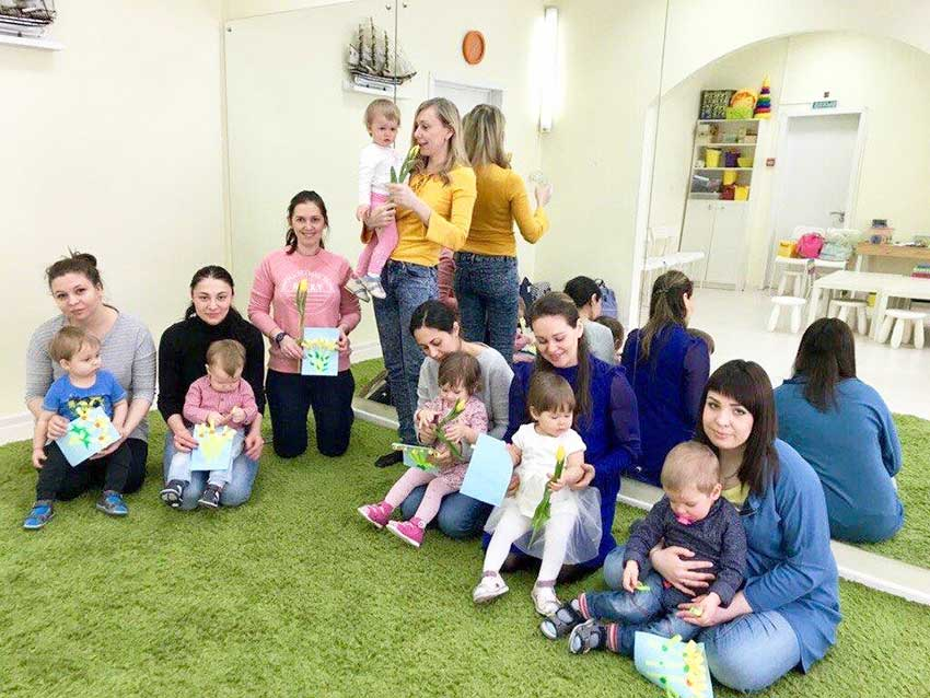 занятия для детей 1 год, помещение для проведения развивающих занятий для детей